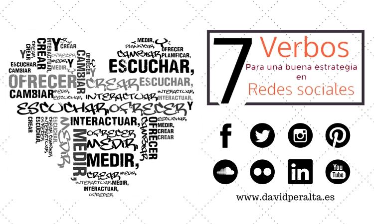 7 verbos que una buena estrategia en redes sociales debería conjugar [Infografía]