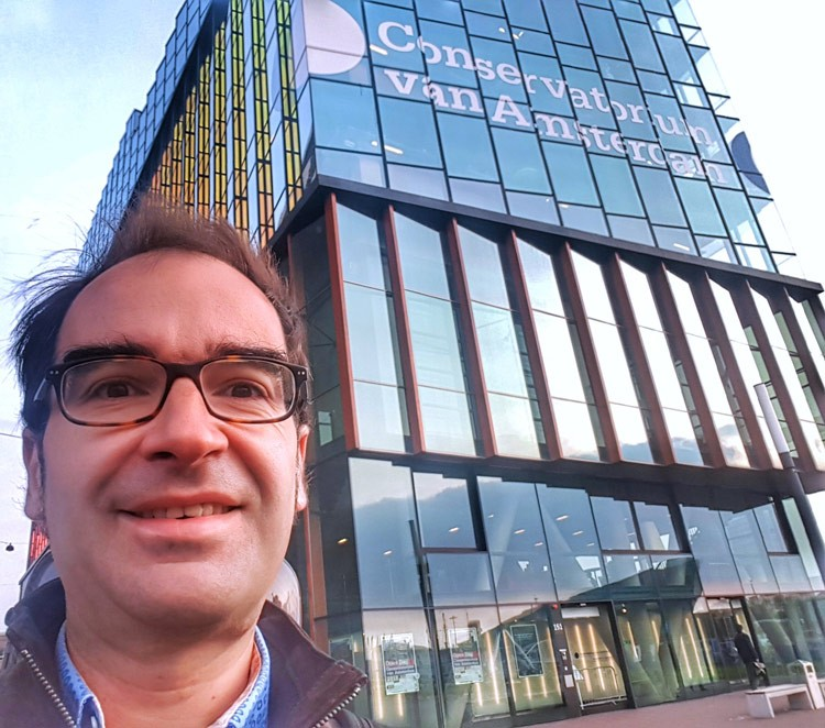 Nuevo reto: profesor de emprendimiento musical en el Conservatorio de Amsterdam