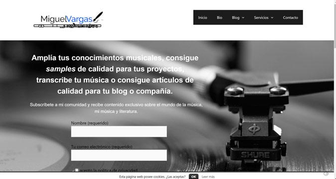 Blog profesional de Miguel Vargas