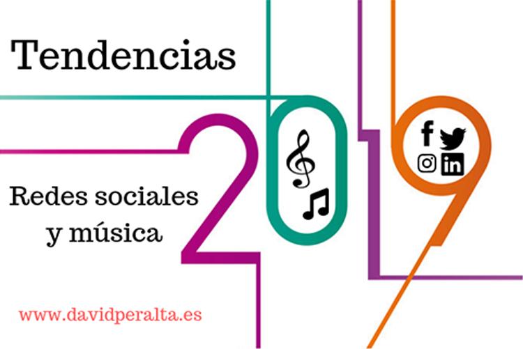 Tendencias en redes sociales para el mundo de la música en el 2019