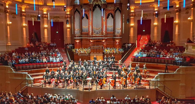 Orquesta Joven de la Orquesta del Concertgebouw de Amsterdam hace historia con Pablo Heras-Casado