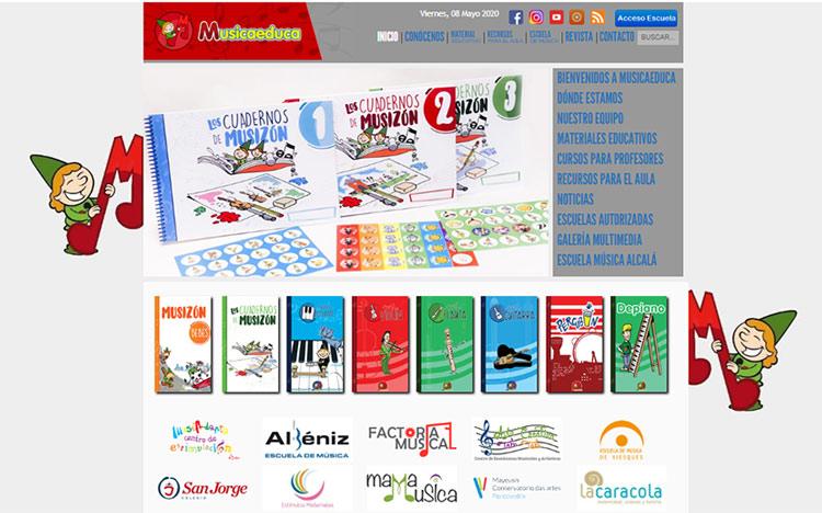 Blog Musicaeduca del aula de música de Juventudes Musicales  de Alcalá de Henares (Madrid)