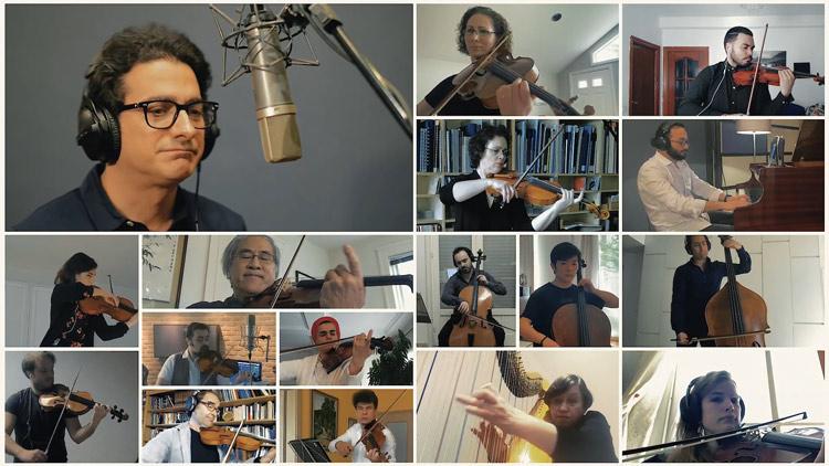 Música y solidaridad Orquesta FIlarmónica de Teherám
