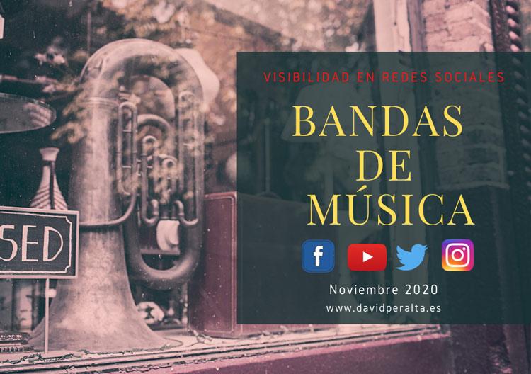 Bandas de música visibilidad en redes sociales