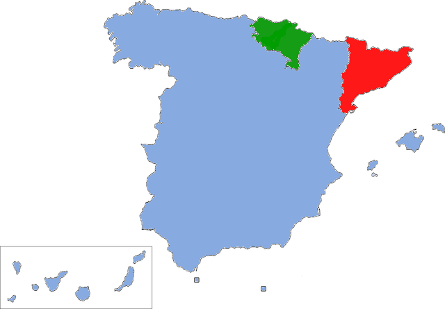 Why Is Basque And Catalan Separatism Weaker In France Than In Spain - Basque centers us map