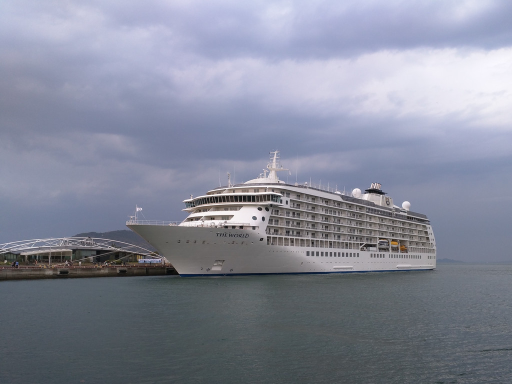 I Saw The World - Cruise ship stories