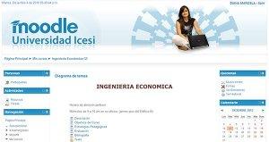 Moodle Universidad Icesi