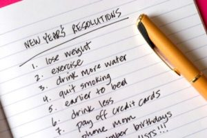 Hypnotherapy helping you to keep your resolutions