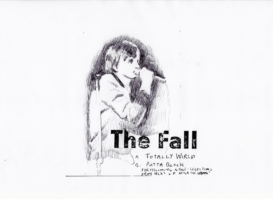 David Powell The Fall MES 2019 drawing