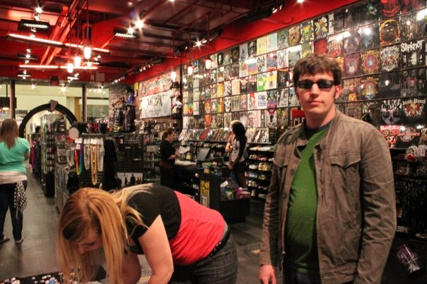 Here I am getting to the Hot Topic, probably exactly on time too.