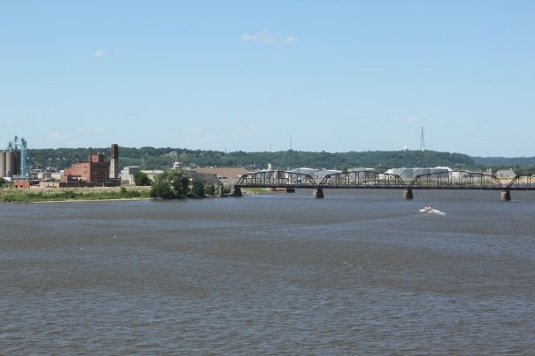 Dubuque, a city in Iowa, a state ajasent to several other states no one has heard of.