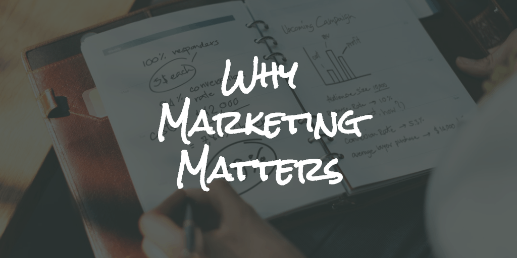 Why Marketing Matters - Blog Image