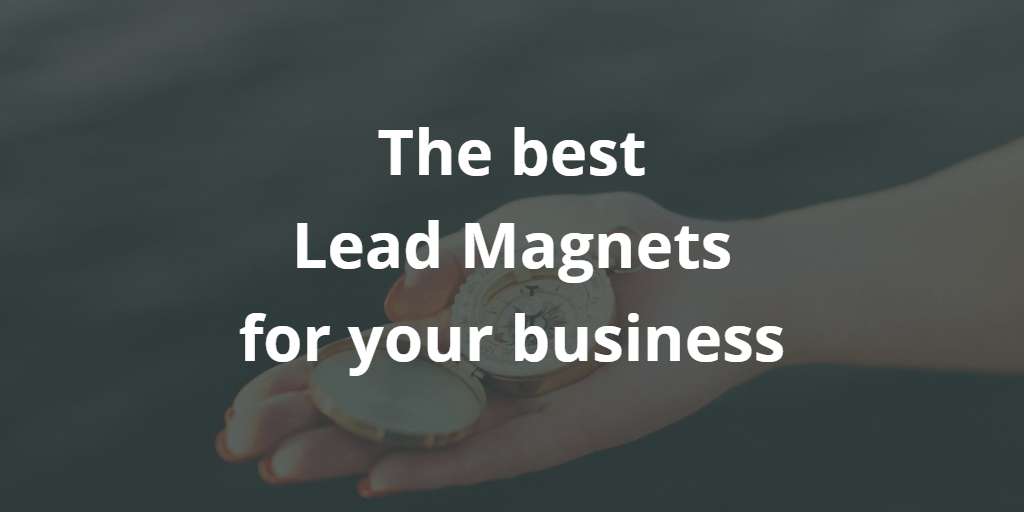 The best Lead Magnets for your business - Blog Image