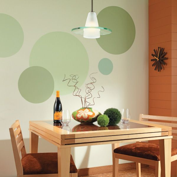 simple pattern wall paint