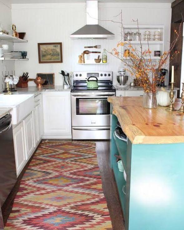 bohemian kitchen rooms
