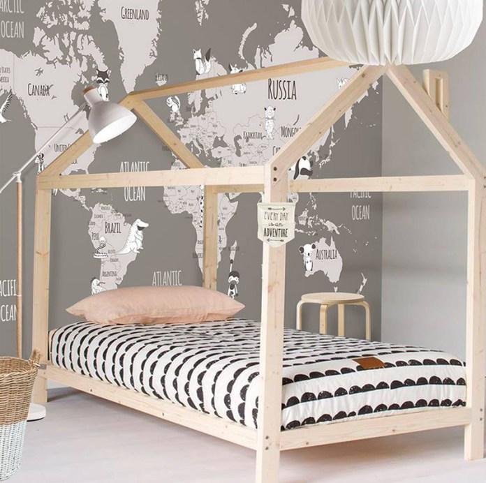 Adventure Children's Bedroom Wallpaper
