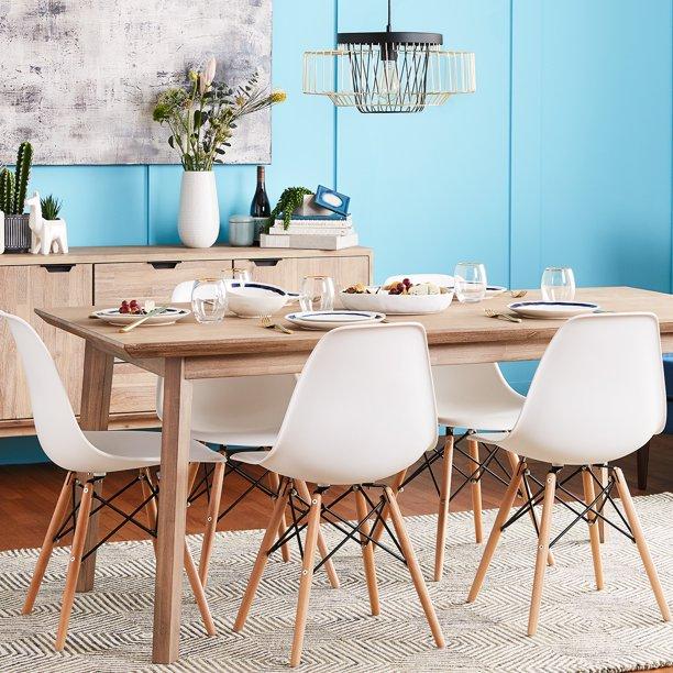 Modern Minimalist Wooden Chairs