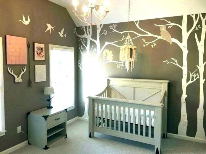 Nature Children's Bedroom Wallpaper
