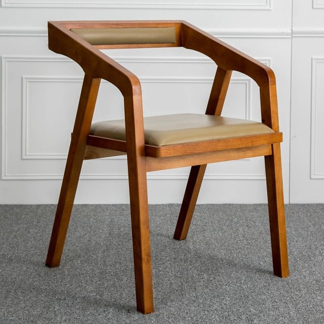 Simple Minimalist Wooden Chairs