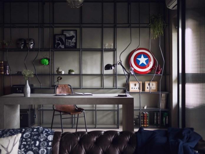Superhero Themed Decoration