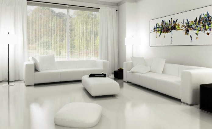 Using White Curtains