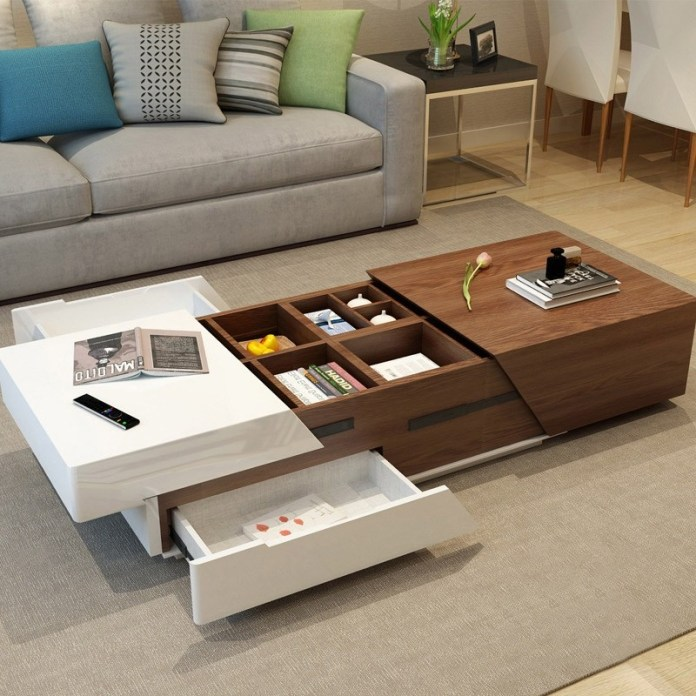 Coffee Table with Storage Area