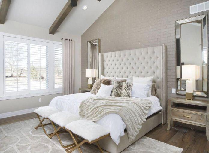Cozy Beige Bedroom