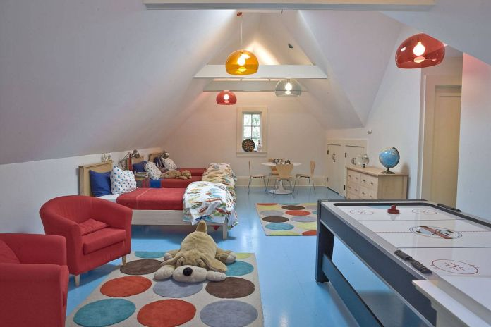 Playroom as Children's Bedroom