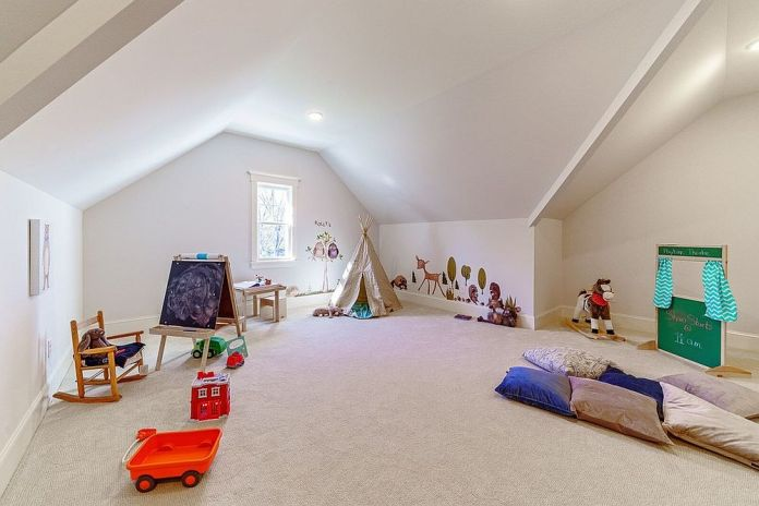 Playroom with Creative Decorations