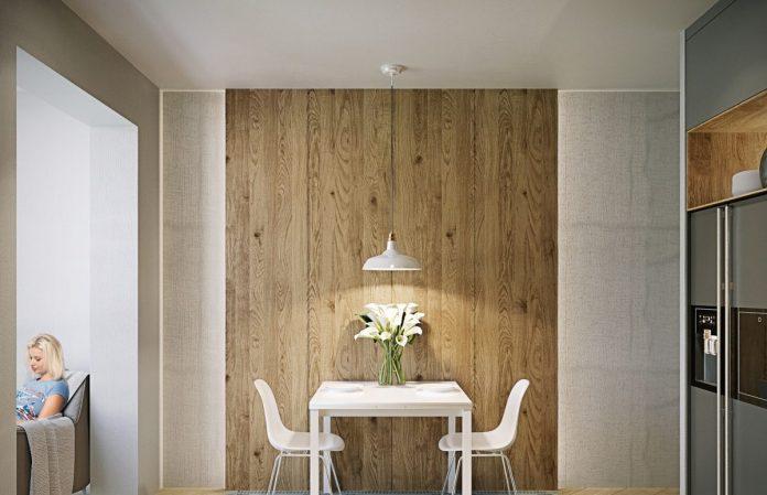 Rustic Minimalist Dining Room