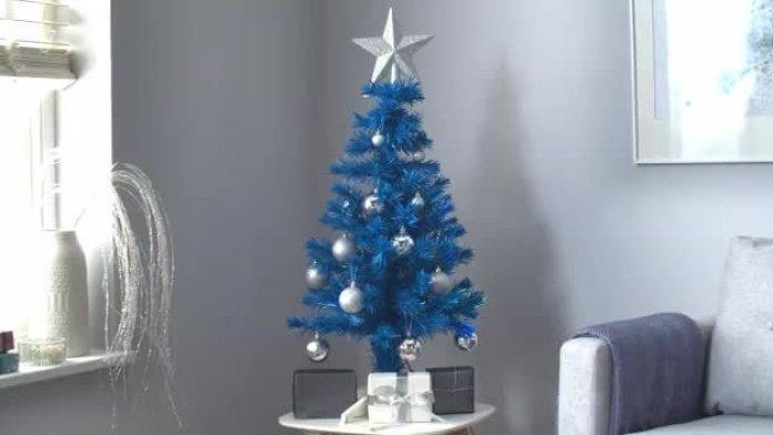 Blue Unique Christmas Tree