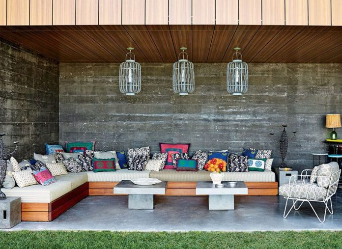 Bohemian Outdoor Living Room