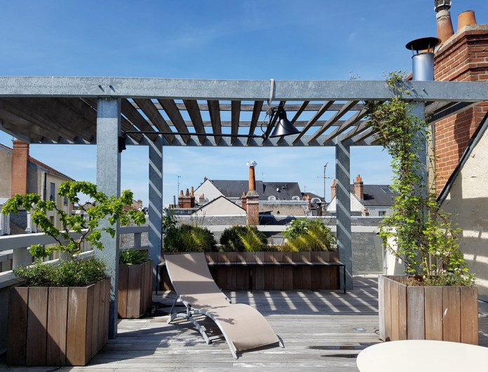 Industrial Rooftop Garden