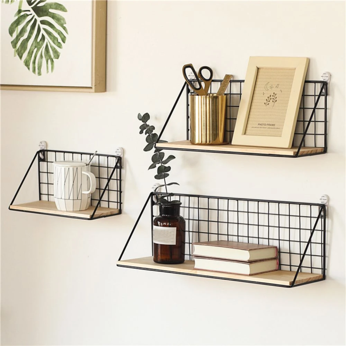 Minimalist Iron Wall Shelf