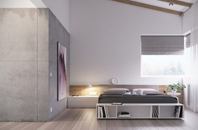 Minimalist Industrial Bedroom
