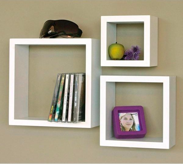 Square Wall Shelf