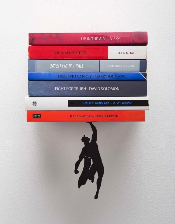 Superhero Wall Shelf