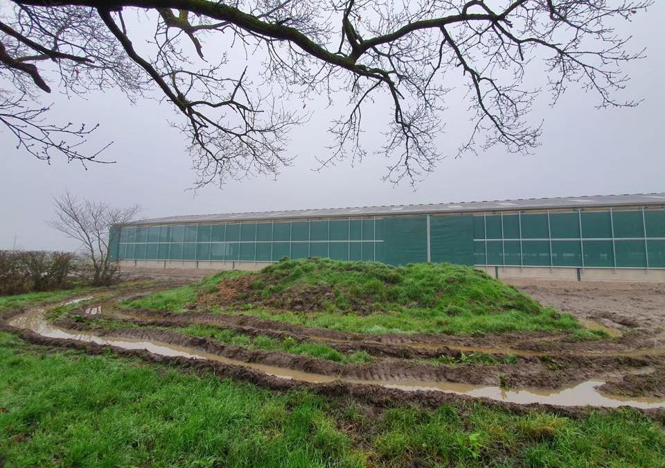 Galebreaker VVS Curtain Installation
