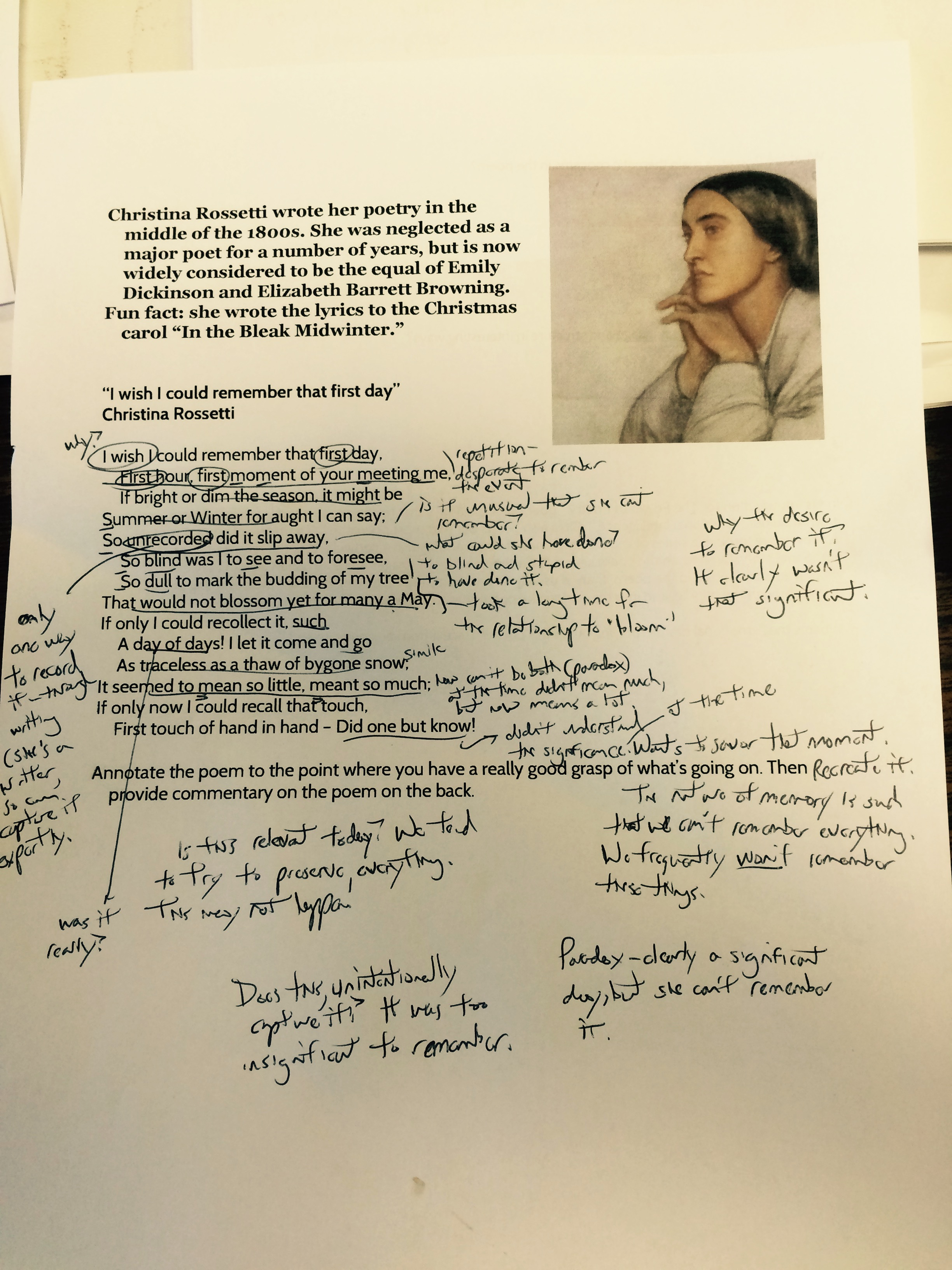 Don T Hate Annotate How To REALLY Annotate A Poem David