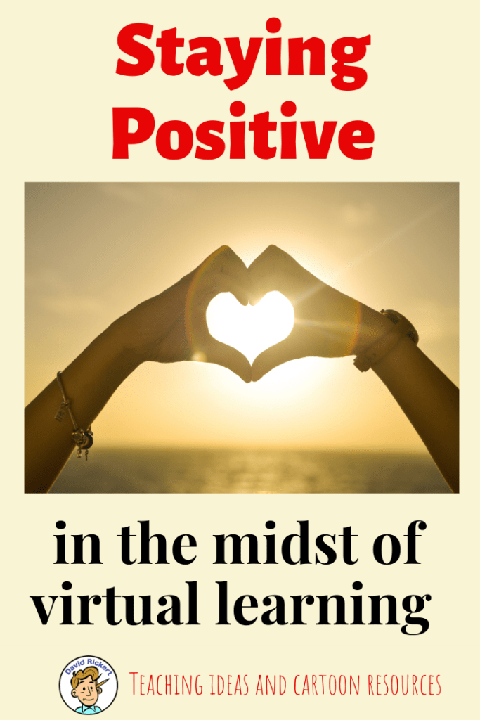 virtual learning remote online staying positive