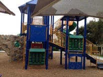 A playground for kids