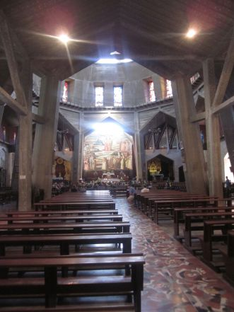 This is the third level, which is a beautiful church