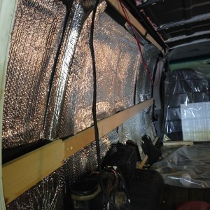 Reflectix in Van Insulation