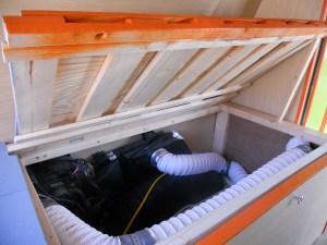 VanLife Bed Storage 2