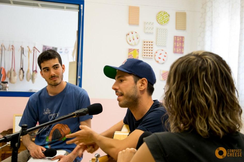 Celebrando el primer aniversario de Compact Cheese en La Lambrera