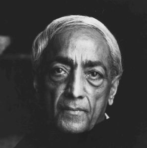 Jiddu Krishnamurti - bringing meditation to Western minds