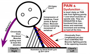Out of Balance Muscles - relieve muscle tension, chronic stress & muscle pain