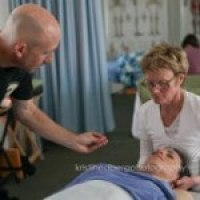 Kyle C. Wright teaching at the Schools of Advanced Bodywork - clinical - medical massage therapy