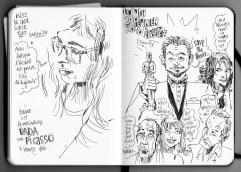 Jeanne au Musée Picasso / Leo DiCapprio