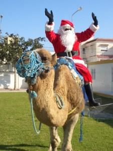 Santa in Tunis